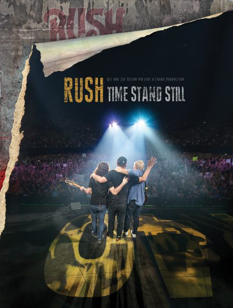 RUSH Time Stand Still DVD/Blu-Ray