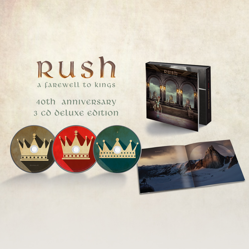 A Farewell To Kings 40th Anniversary Release | Rush com