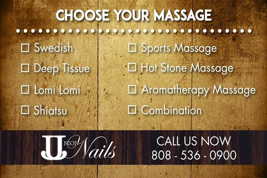 Massage Choice