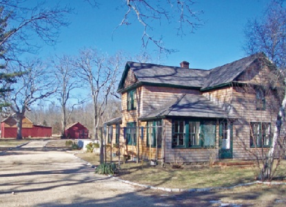 1.4 Acre Cleared Former Farm With 1880 House An...