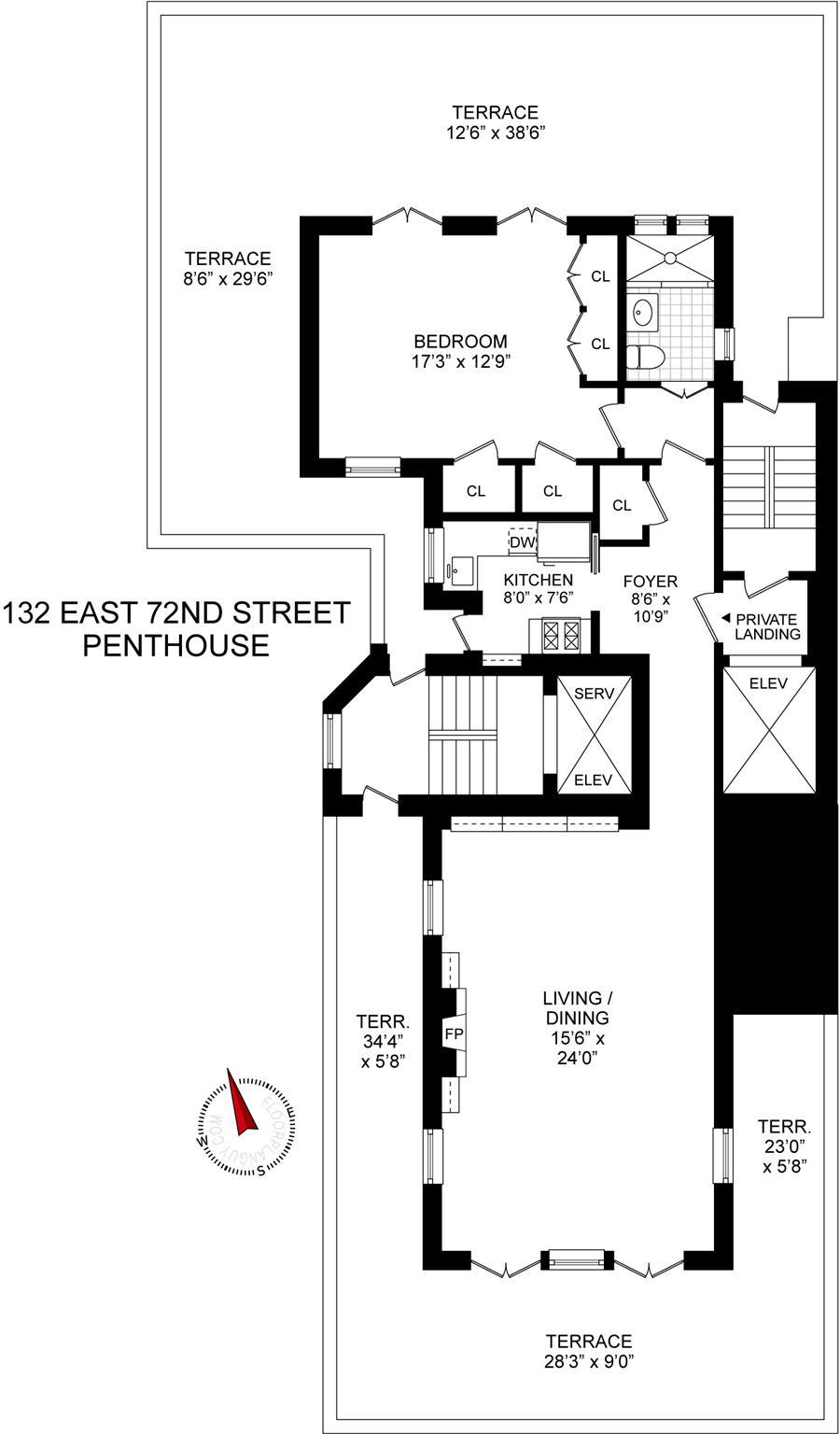 132 East 72nd Street