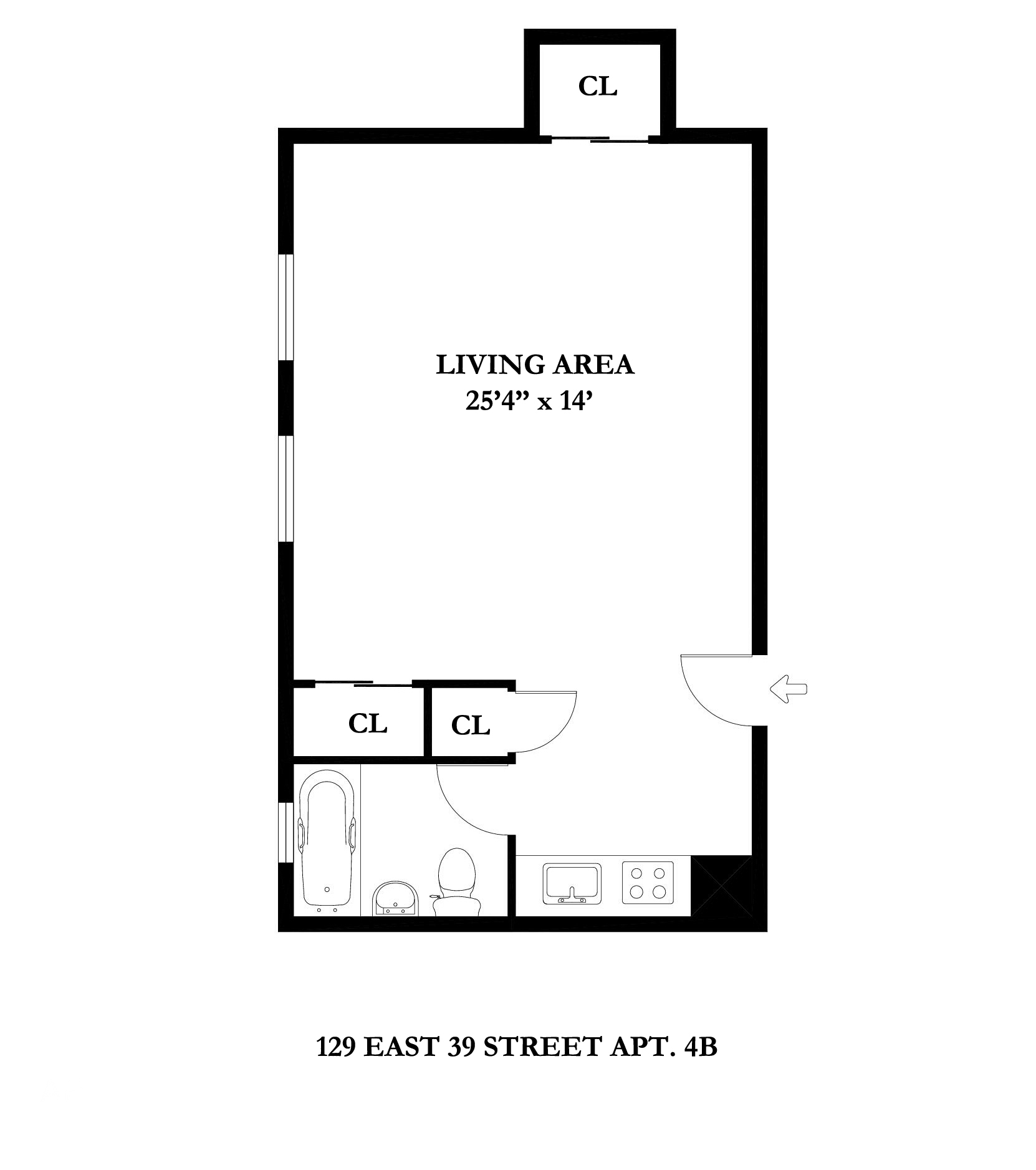 129 East 39th St 4b Rental Unit Apartment Rental In