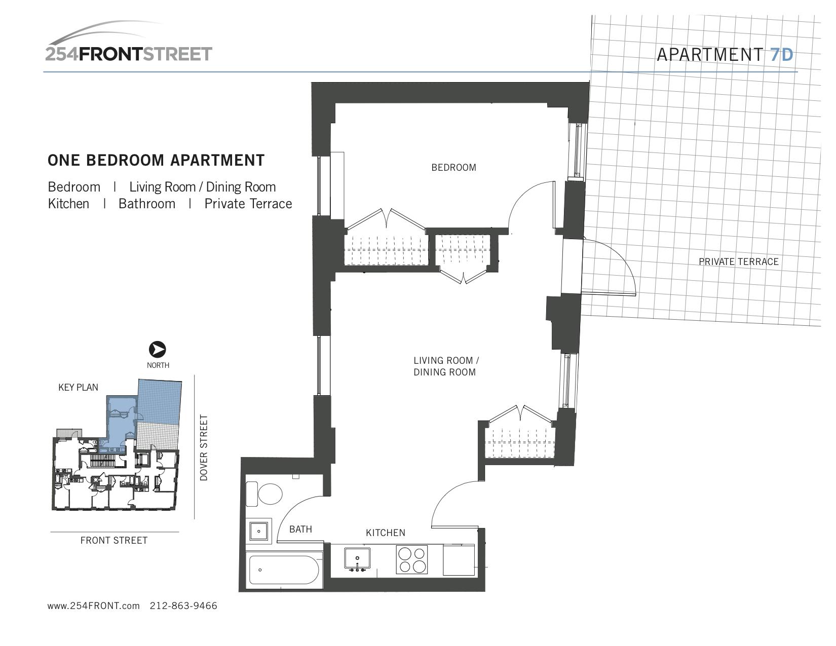254 front st 7d rental unit apartment rental in fulton for 41 river terrace manhattan