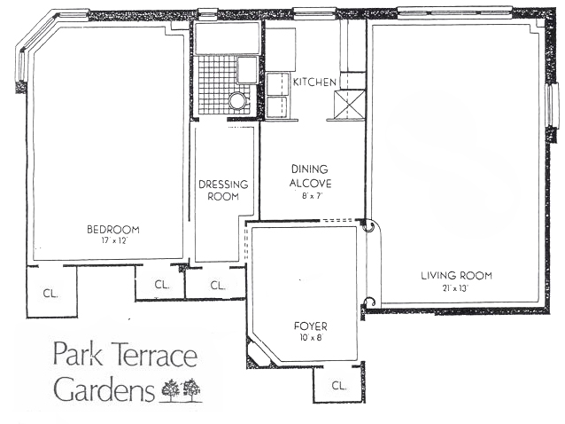 67 park terrace east c63 co op apartment sale in inwood for 67 park terrace east