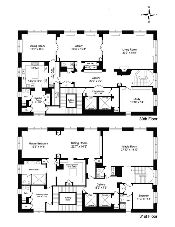 515 Park Ave 30 31 Condo Apartment Sale In Lenox Hill