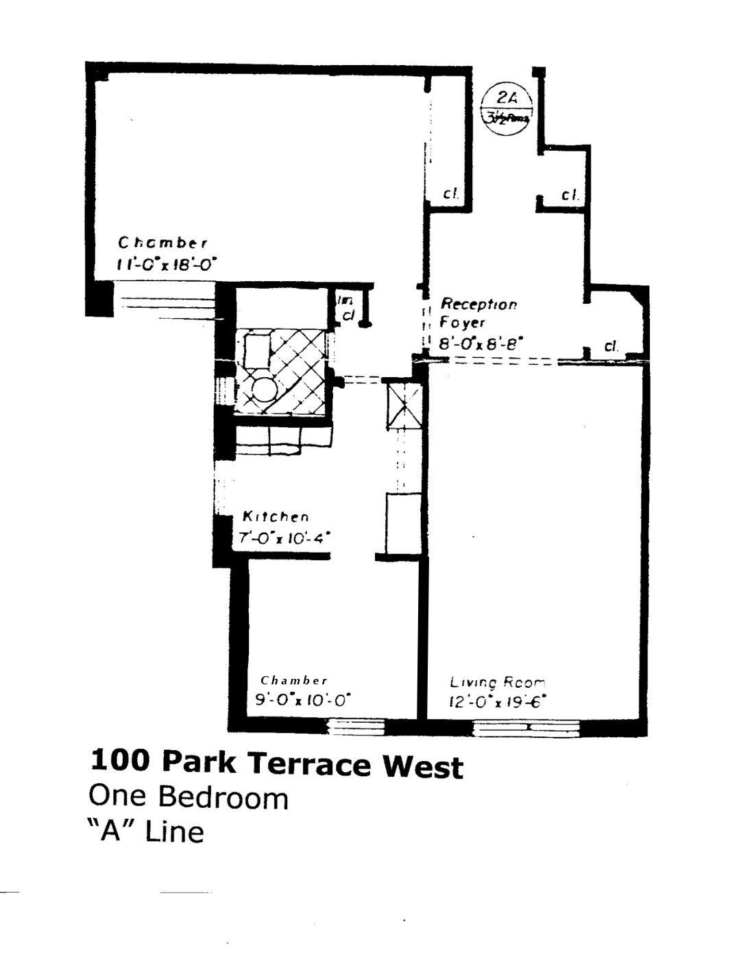 Streeteasy 100 park terrace west in inwood 3a sales for 100 park terrace west