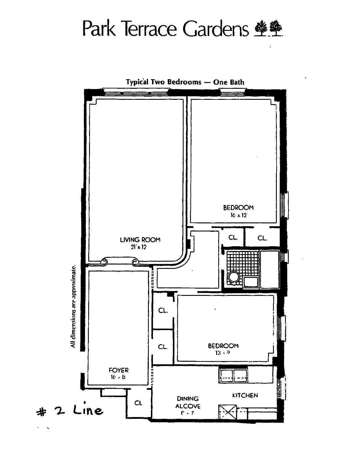 60 park terrace west a42 co op apartment sale in inwood for 60 park terrace west