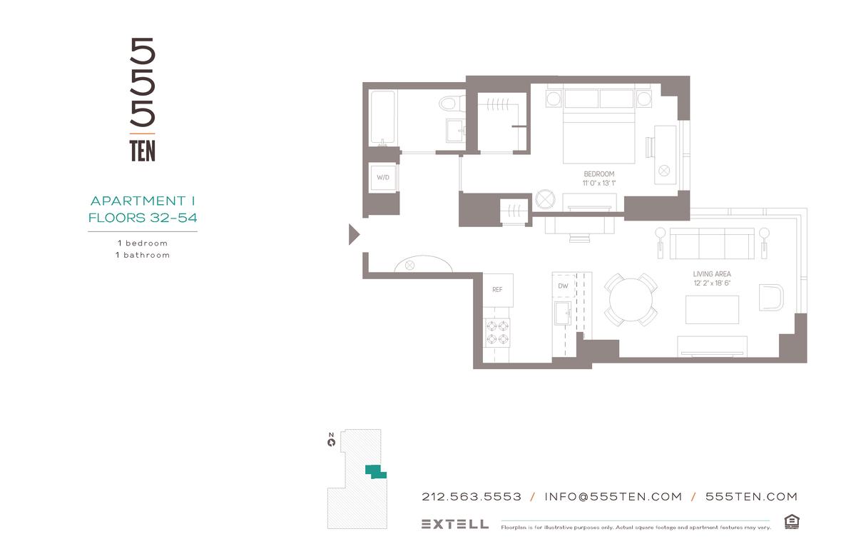 10 Hudson Yards Floor Plans