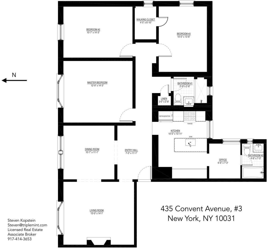 Flooring Sales Hamilton: StreetEasy: 435 Convent Avenue In Hamilton Heights, #3