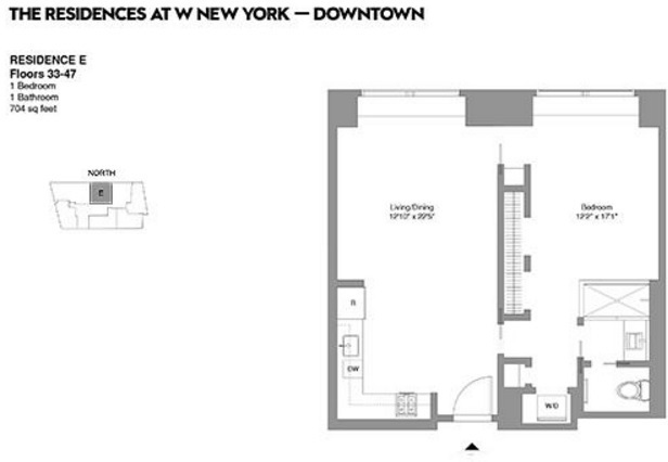 StreetEasy: W Downtown Hotel & Residences at 123