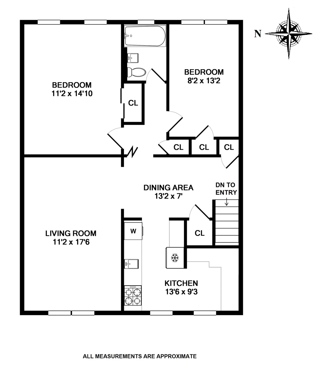Fillmore Garden Apartments: StreetEasy: 2033 Pearson Street In Old Mill Basin, #2