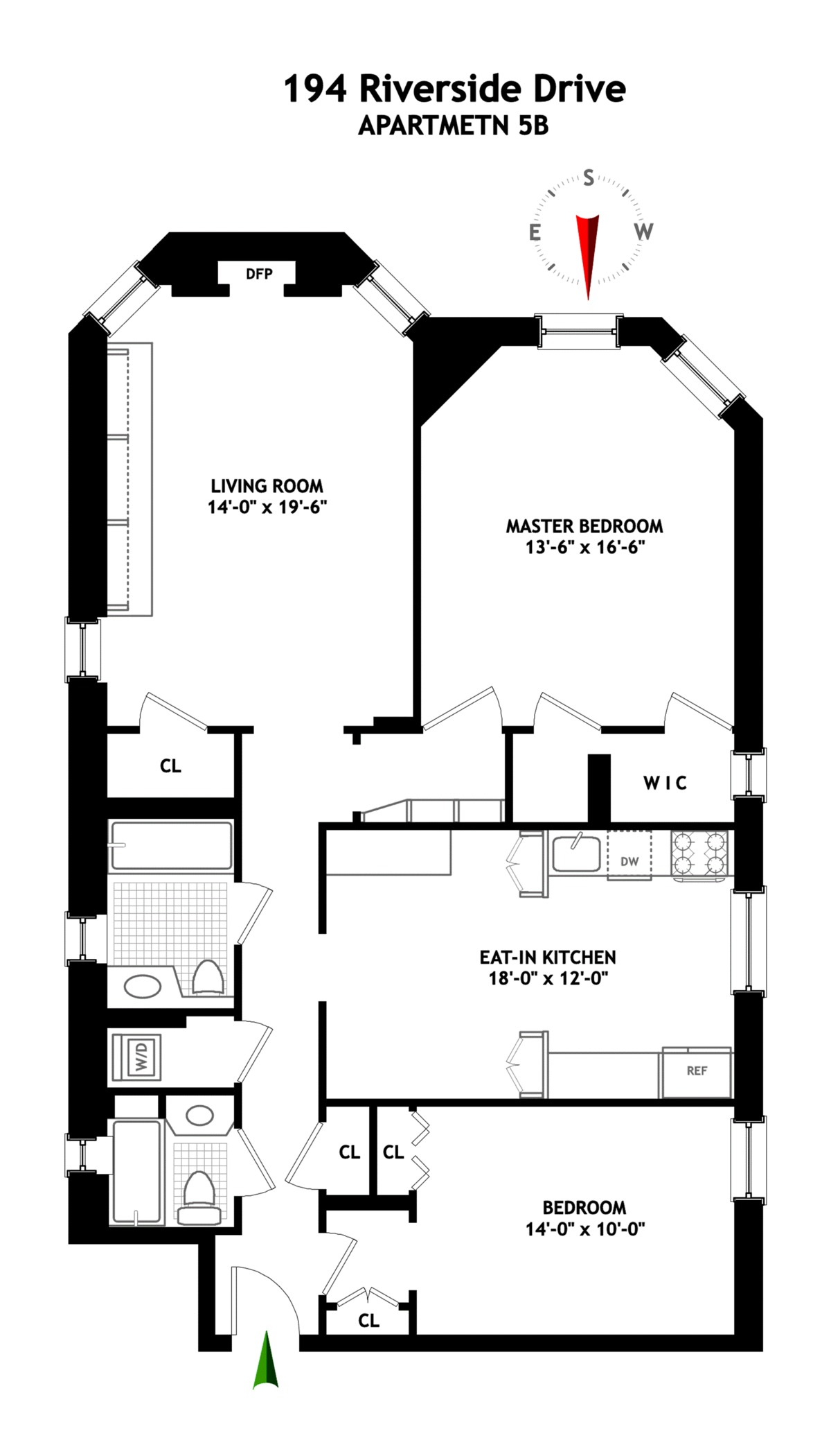 10 S Riverside Floor Plan