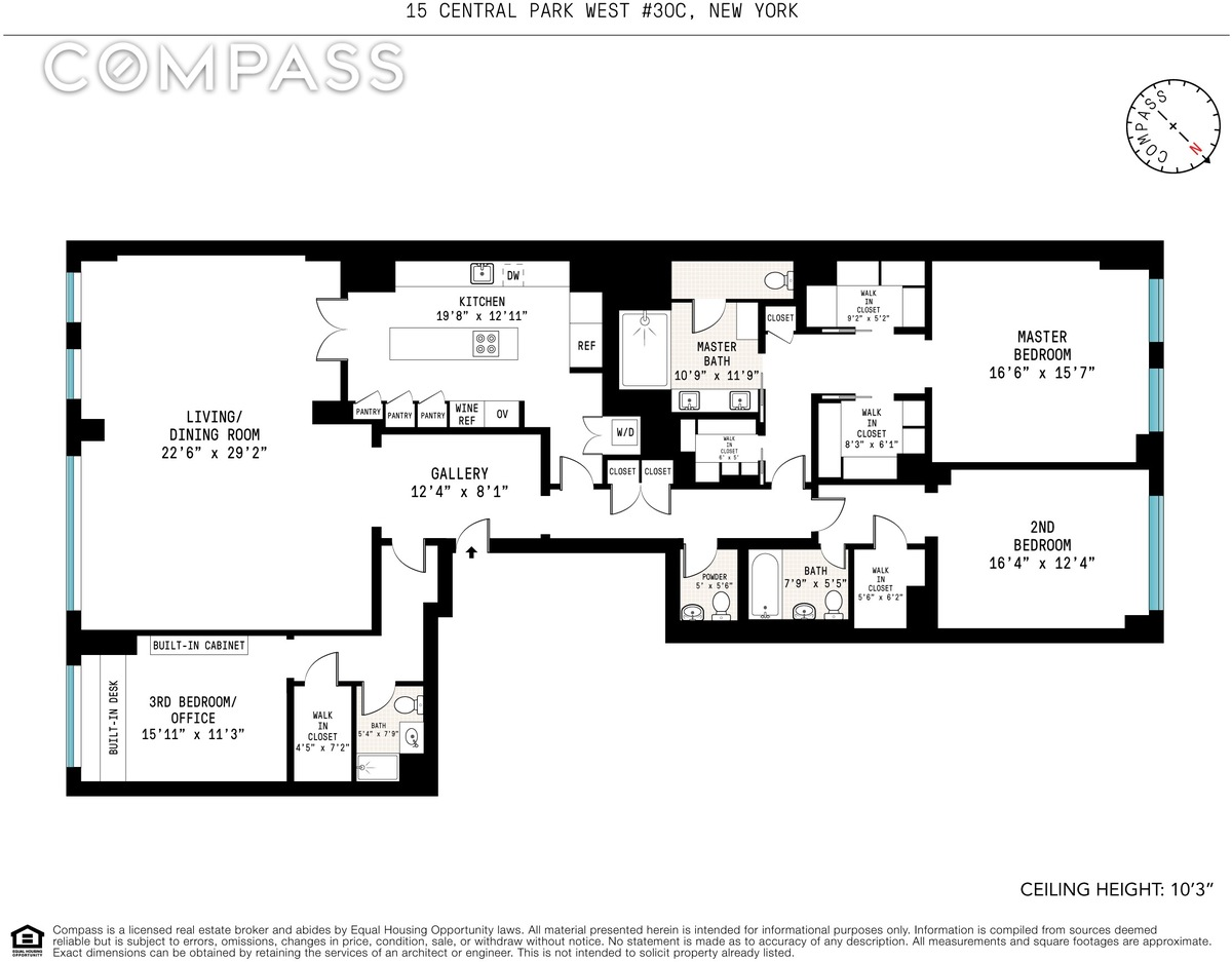 2 Bedroom Apartments In Lincoln Park Streeteasy 15 Central Park West In Lincoln Square 30c