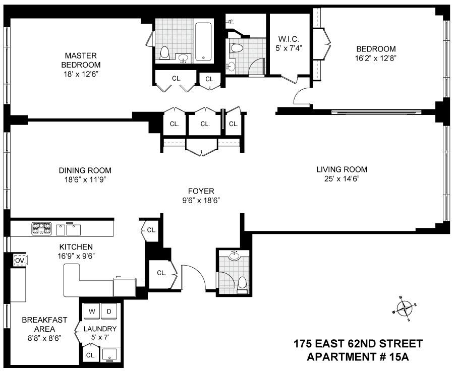Streeteasy 175 East 62nd Street In Lenox Hill 15a