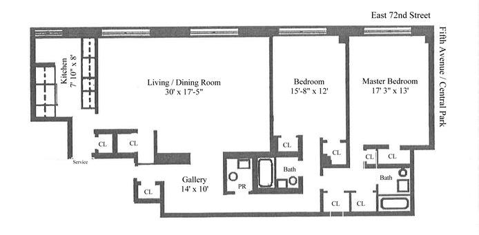 Streeteasy 910 Fifth Avenue In Lenox Hill 7c Sales