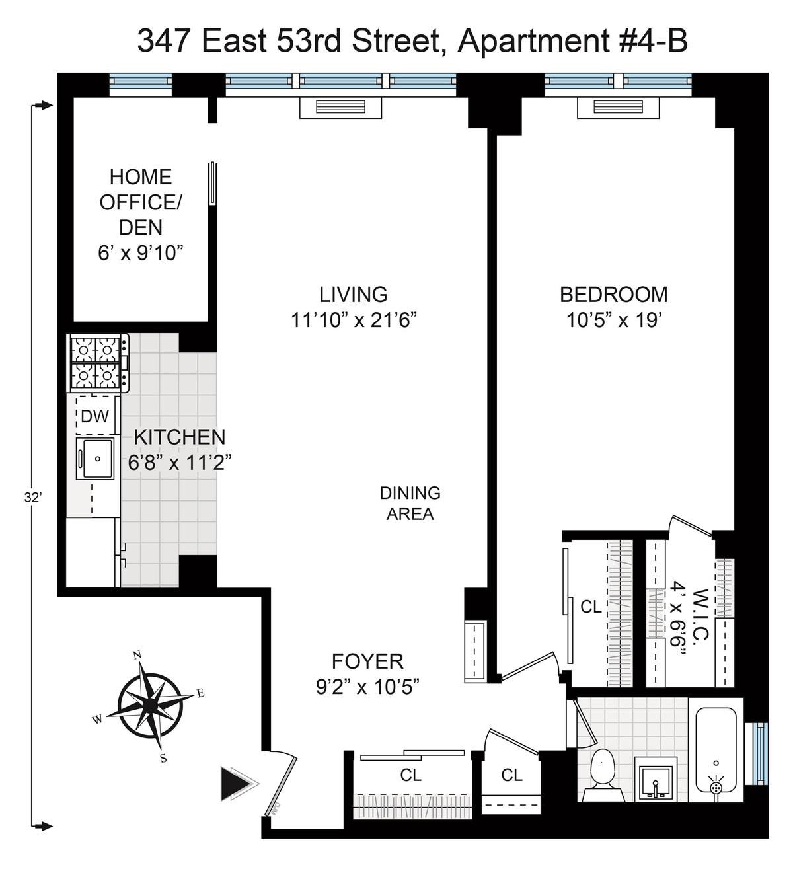 Streeteasy 347 East 53rd Street In Sutton Place 4b