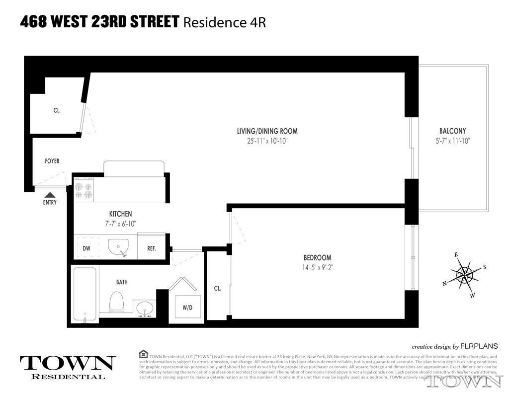 Streeteasy 468 West 23rd Street In West Chelsea 4r