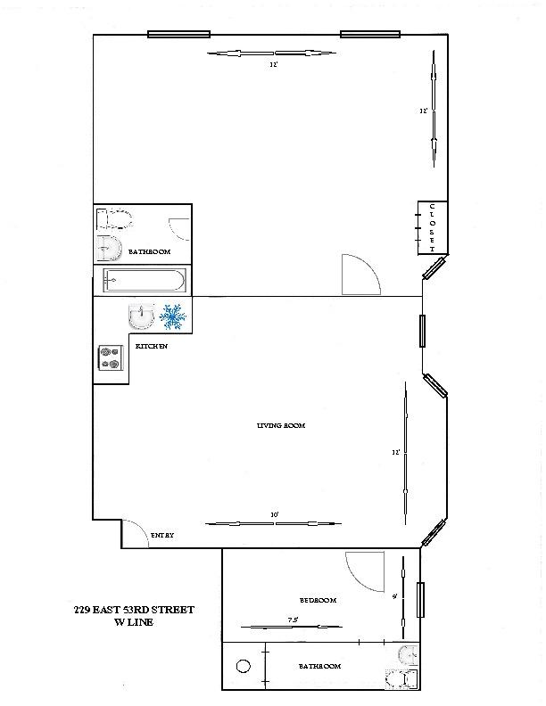 Streeteasy 229 East 53rd Street In Sutton Place 4w