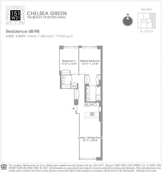 Streeteasy Chelsea Green At 151 West 21st Street In