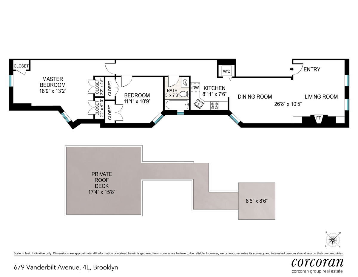 Streeteasy 679 vanderbilt avenue in prospect heights 4l for 15 dunham place brooklyn ny floor plans