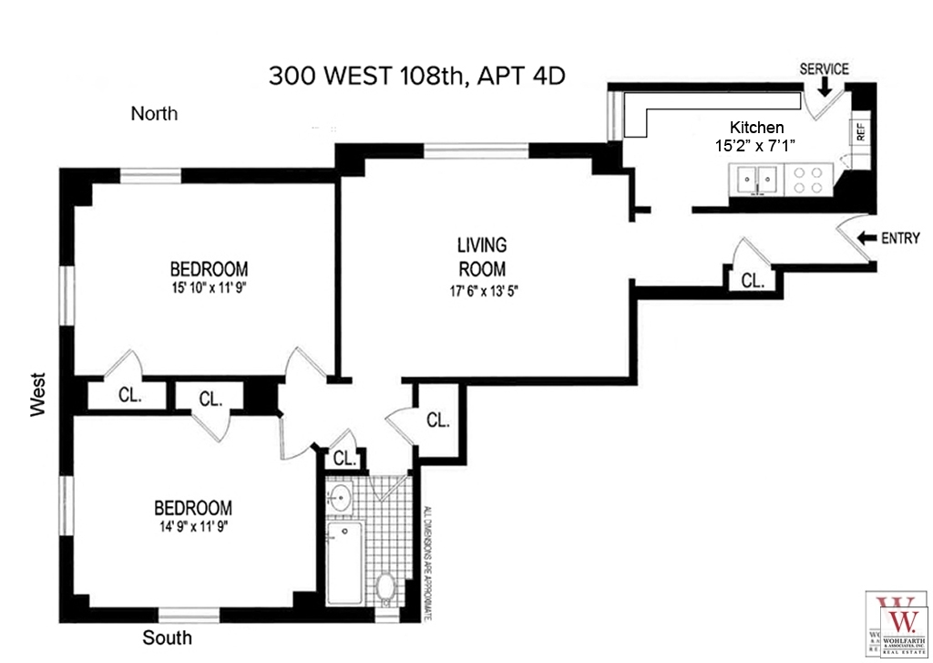 Streeteasy 300 West 108th Street In Upper West Side 4d