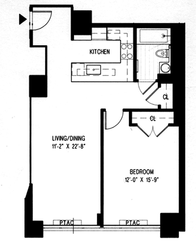 StreetEasy: The Sheffield At 322 West 57th Street In Hell