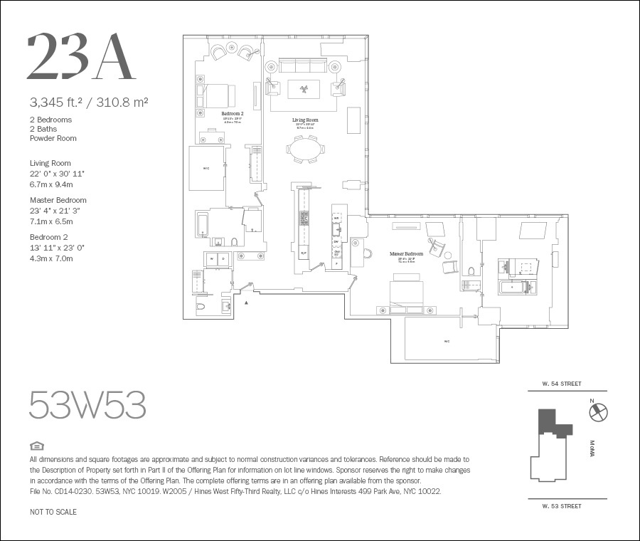 Streeteasy 53w53 At 53 West 53rd Street In Midtown 23a