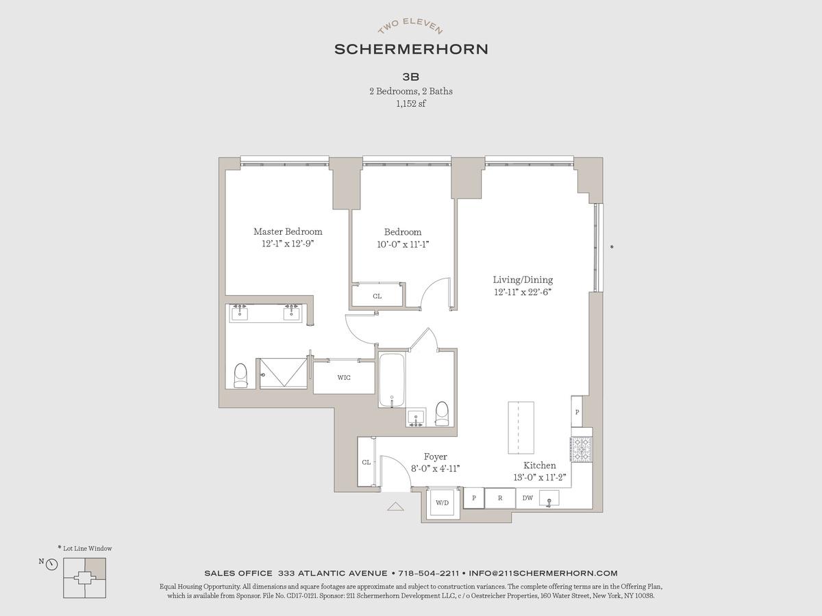 211 schermerhorn street 3b in downtown brooklyn brooklyn for 15 dunham place brooklyn ny floor plans