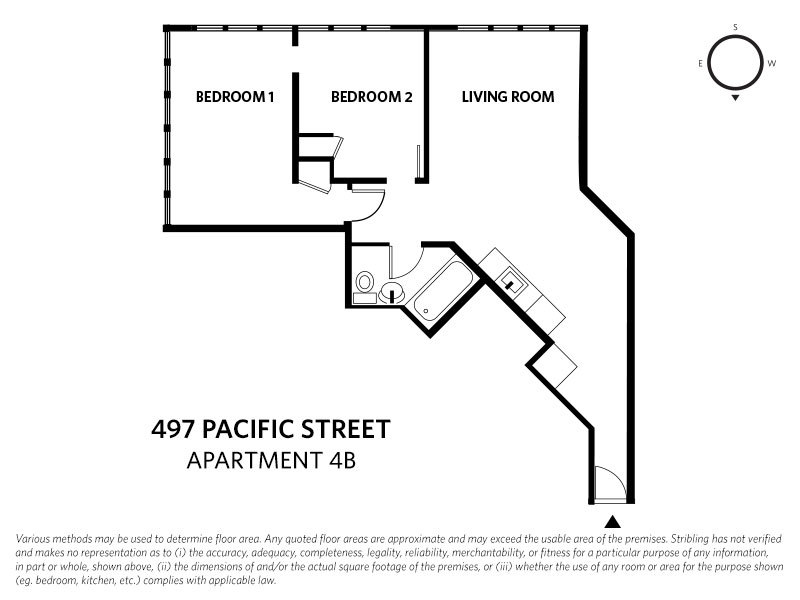 Floor Plan 280 Ashland Place Streeteasy 497 Pacific