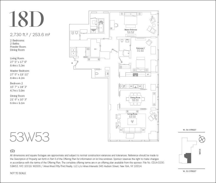 Streeteasy 53w53 At 53 West 53rd Street In Midtown 18d