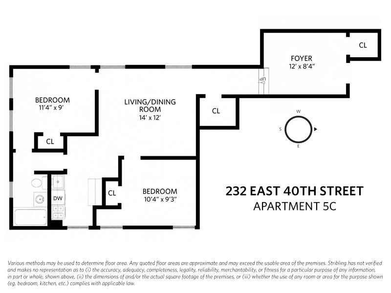 Streeteasy 232 East 40th Street In Murray Hill 5c