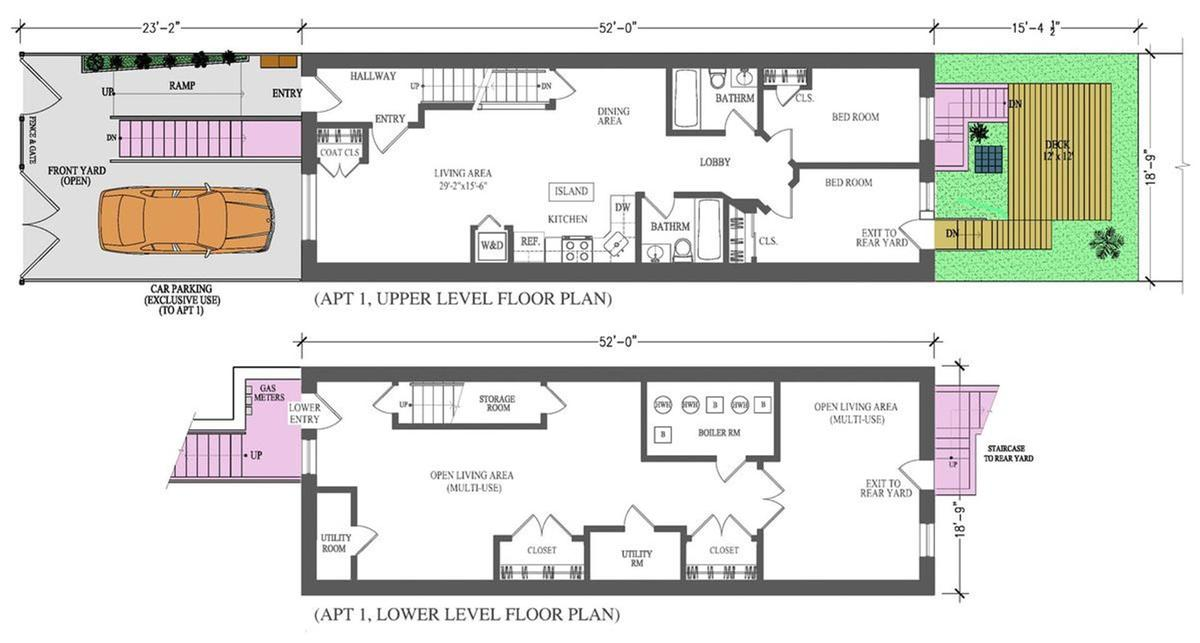 cool floor plan apartment.  Floorplan When Sunday 5 Bed Stuy open houses to check out this weekend Curbed NY