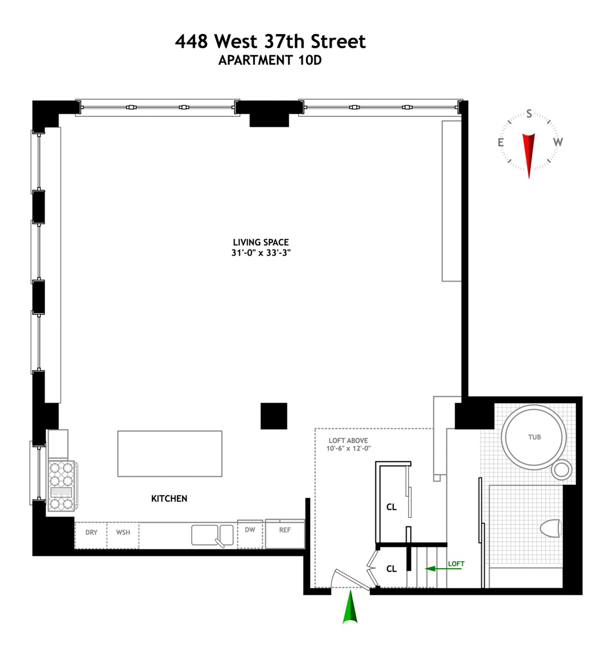 Streeteasy 448 West 37th Street In Hudson Yards 10d