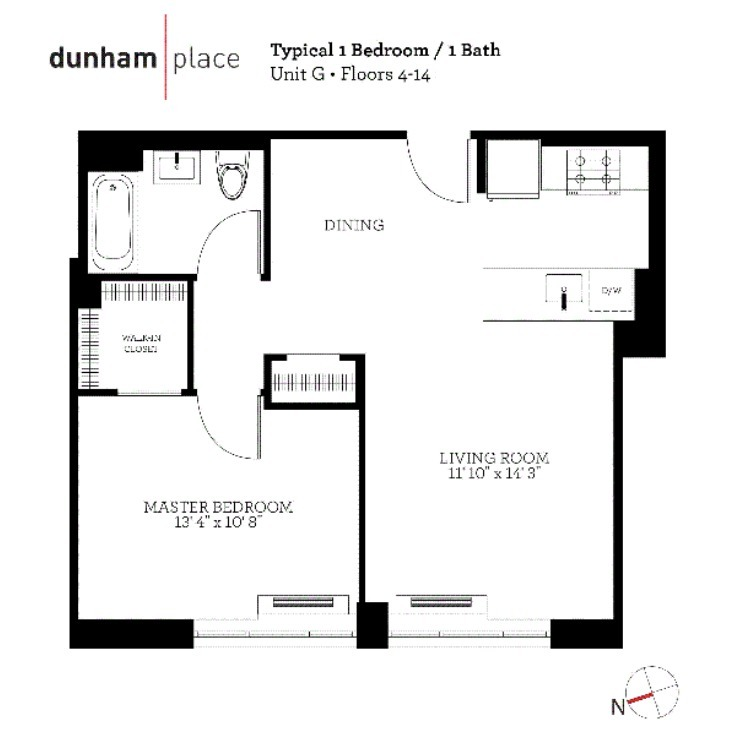 Streeteasy 15 dunham in williamsburg 12g sales for 15 dunham place floor plans