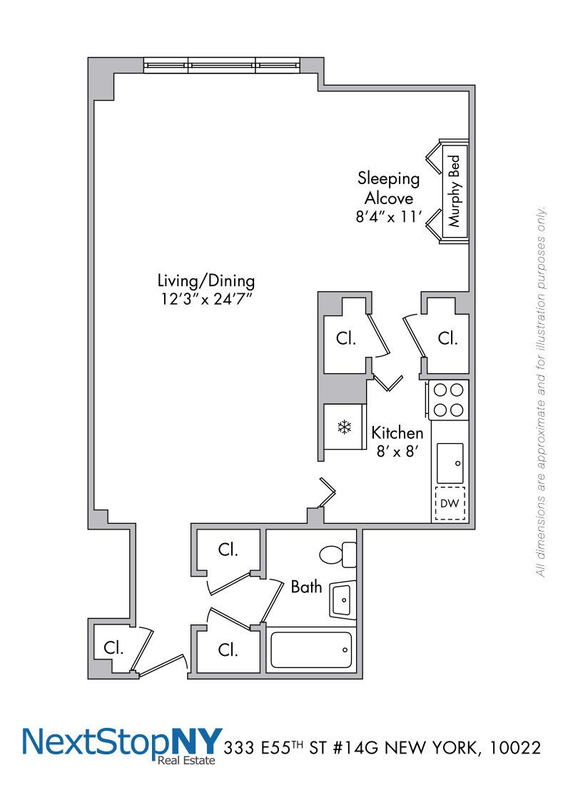 Streeteasy 333 East 55th Street In Sutton Place 14g