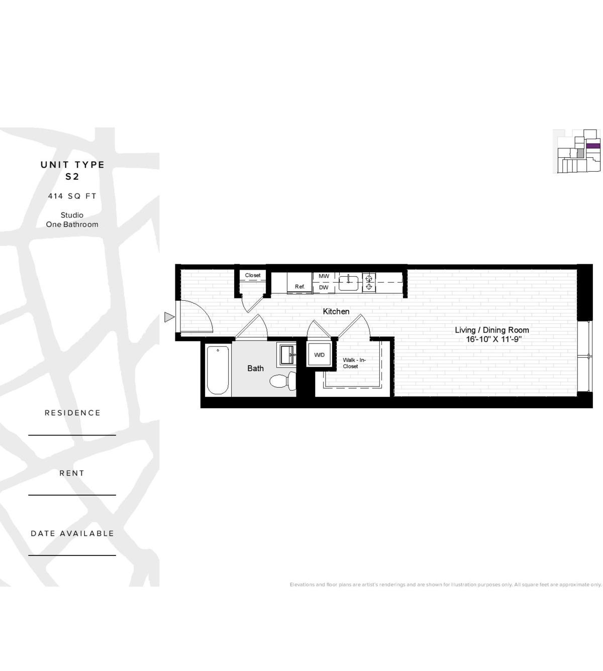 Floor Plan 280 Ashland Place