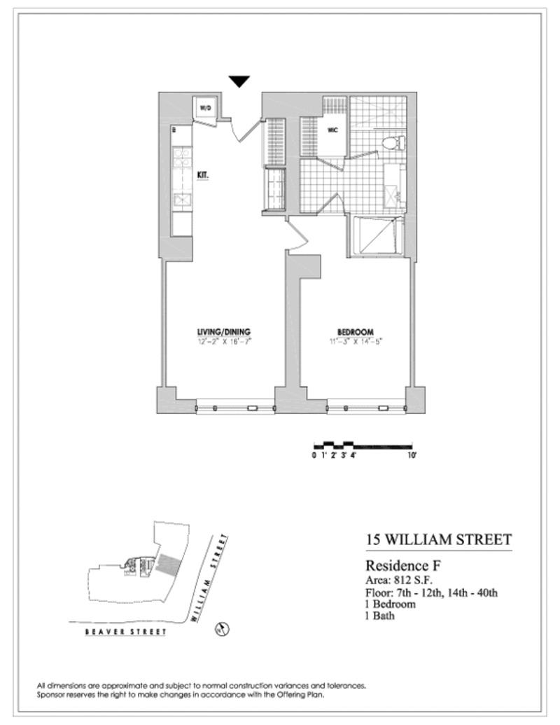 Streeteasy 15 william street in financial district 24f sales rentals floorplans streeteasy for 130 william street 5th floor