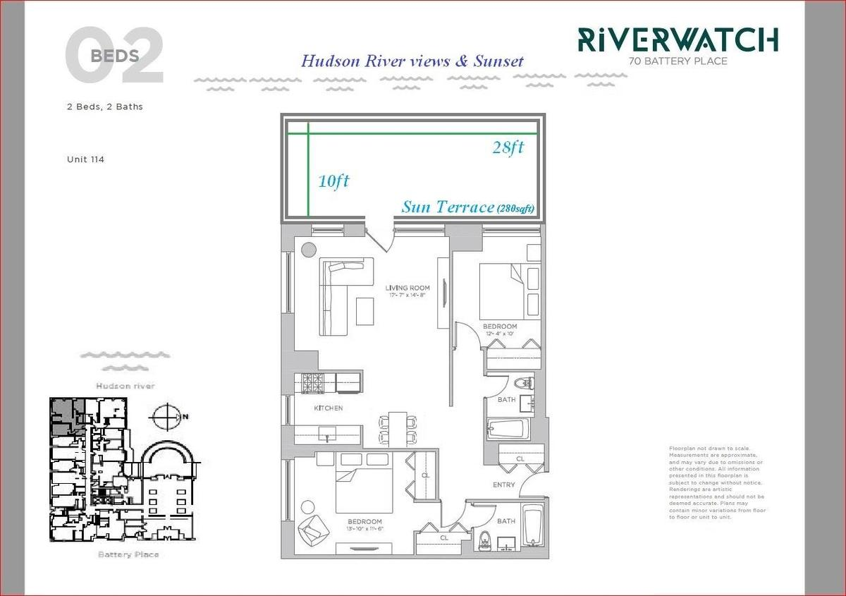 StreetEasy: River Watch at 70 Battery Place in Battery