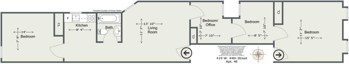 Hells Kitchen Building Location