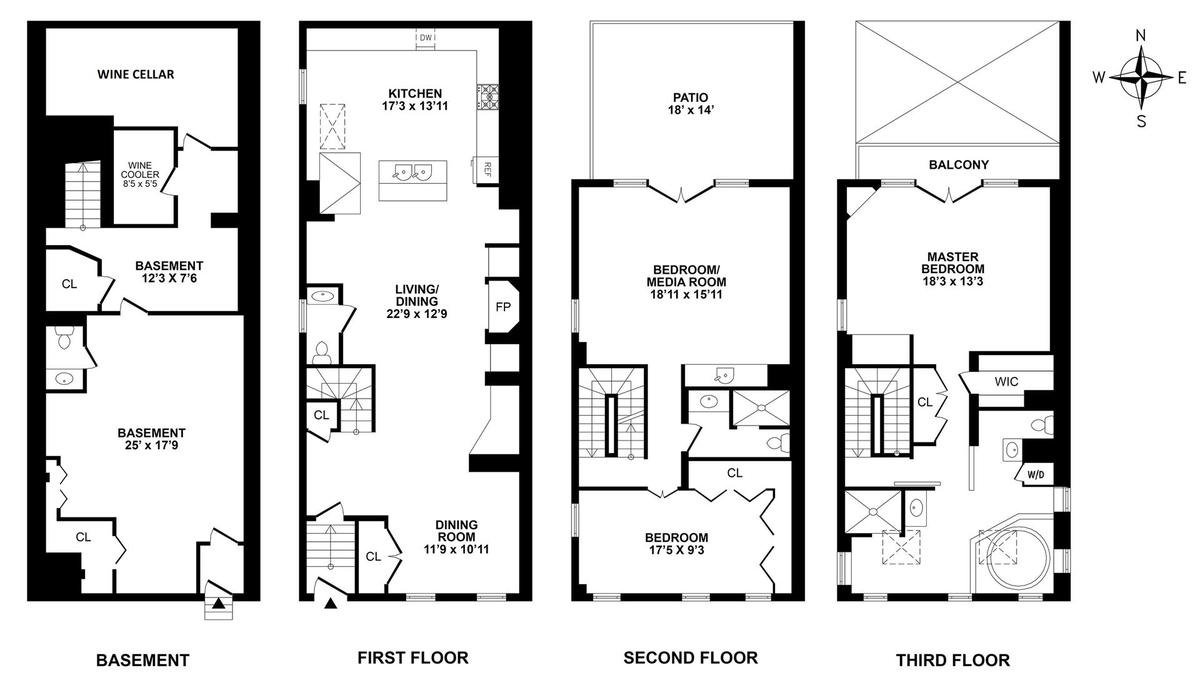 Floor Plan 514 Broome Street 514 Broome Street In Soho