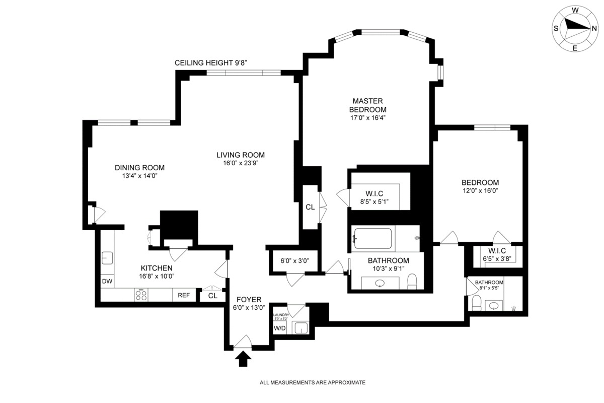 2 Bedroom Apartments In Lincoln Park 15 Central Park West 12l In Lincoln Square Manhattan