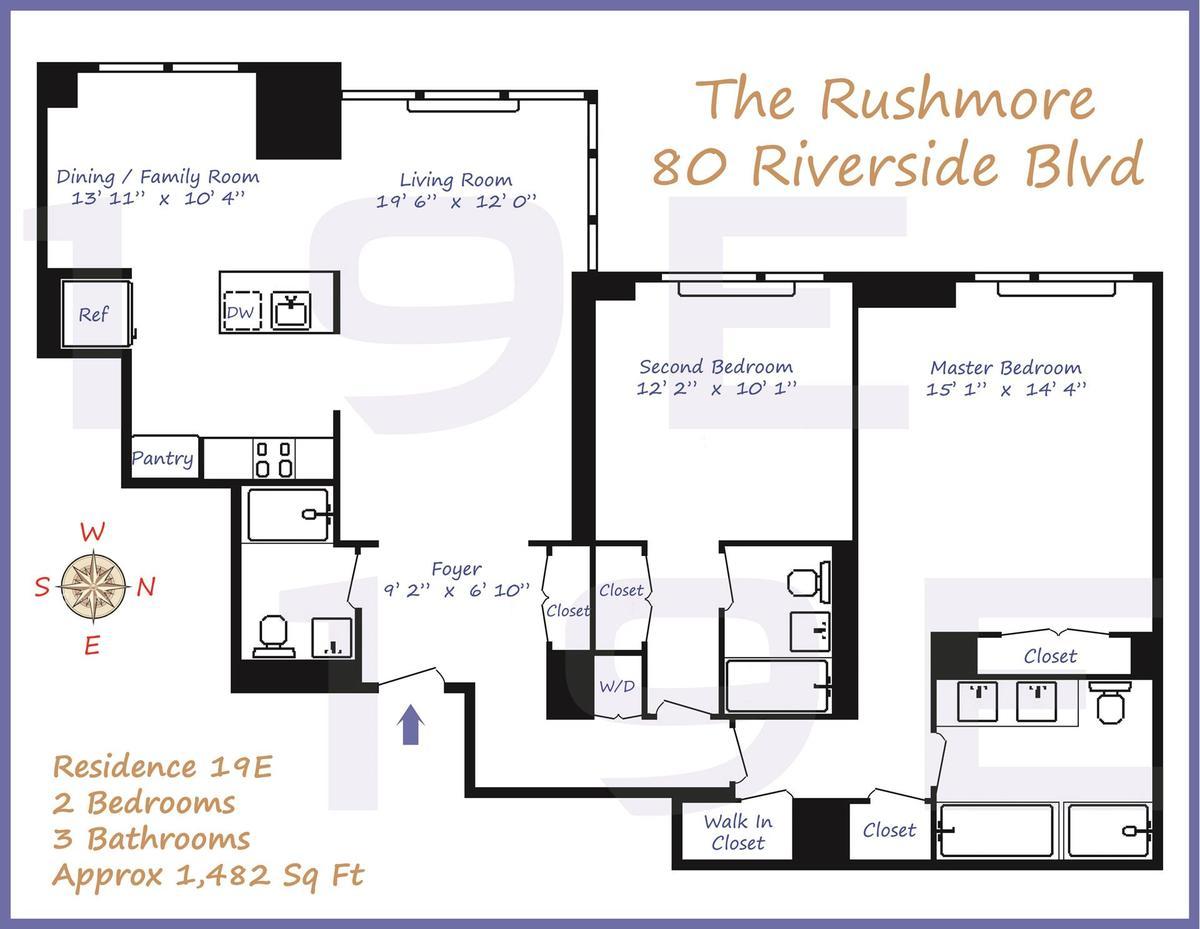 80 Riverside Blvd In Lincoln Square Manhattan Streeteasy