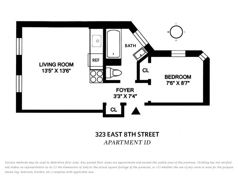 Streeteasy 323 East 8th Street In East Village 1d