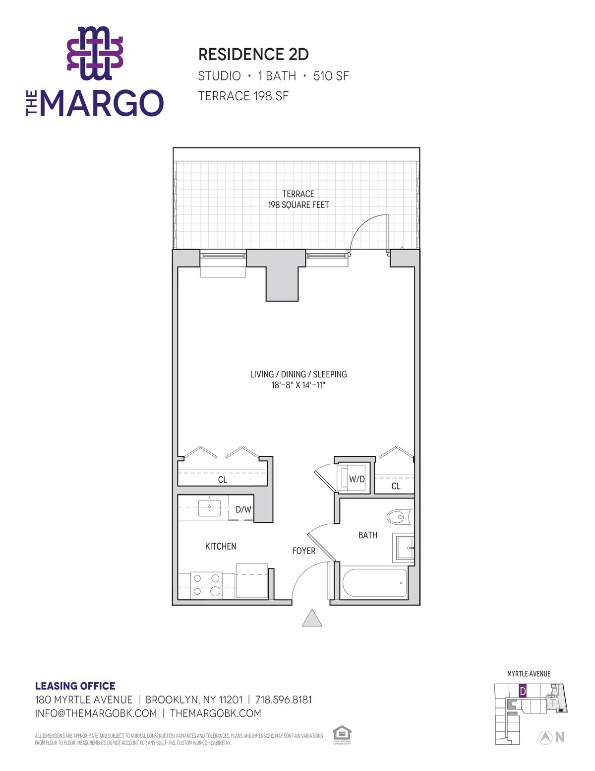 Streeteasy The Margo At 180 Myrtle Avenue In Downtown