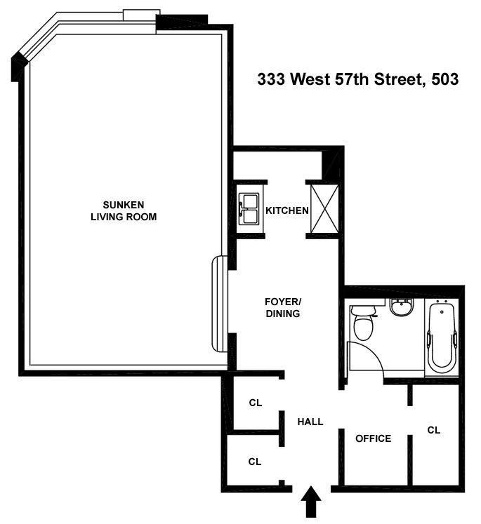 StreetEasy: The Westmore At 333 West 57th Street In Hell's