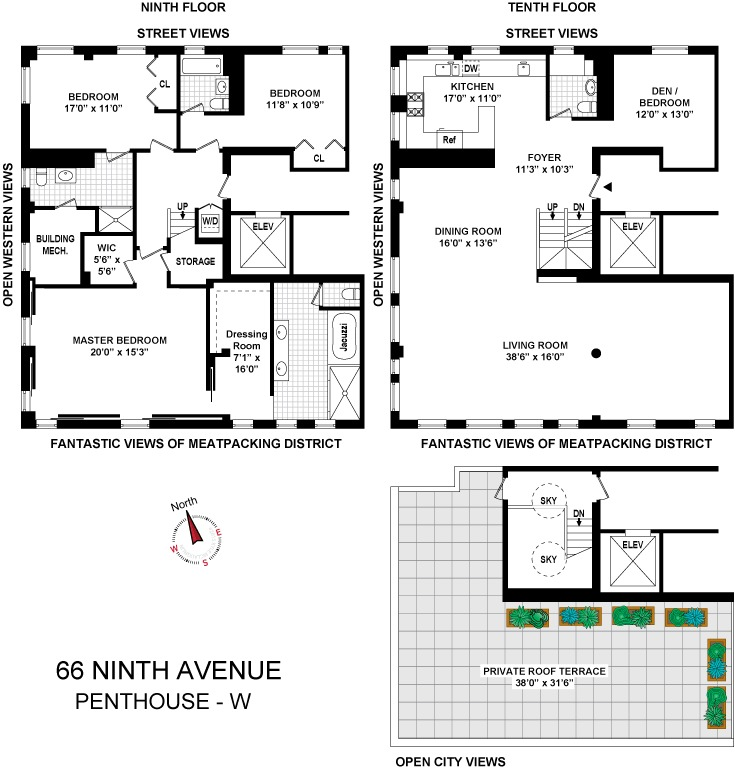 66 Ninth Avenue Phw In Chelsea Manhattan Streeteasy