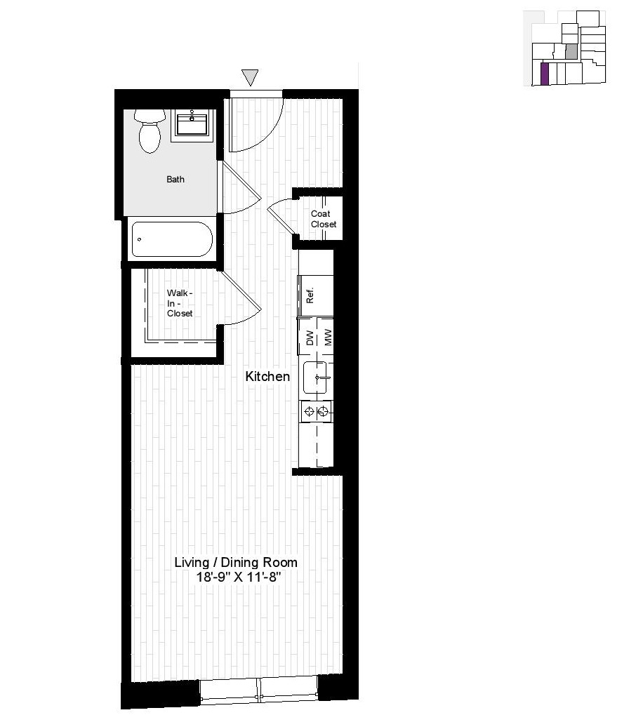 Floor Plan 280 Ashland Place Floor Plan 280 Ashland Place
