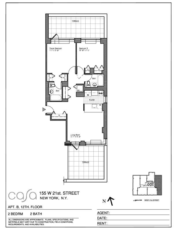 Streeteasy Casa At 155 West 21st Street In Chelsea 12b