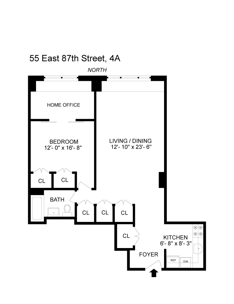 55 East 87th Street #4A in Carnegie Hill, Manhattan