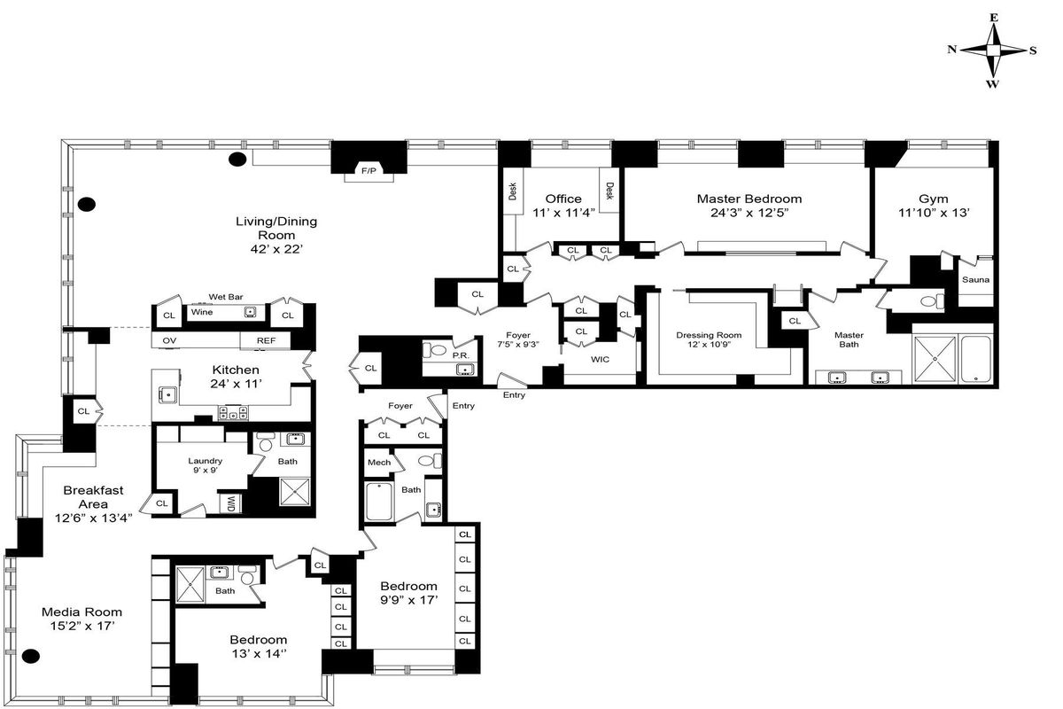 111 West 67th Street #35DEF in Lincoln Square, Manhattan
